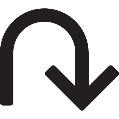 U-Turn Arrow logo