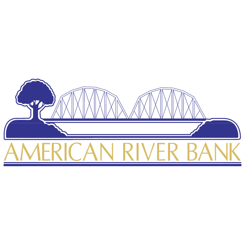 American River Bank vector