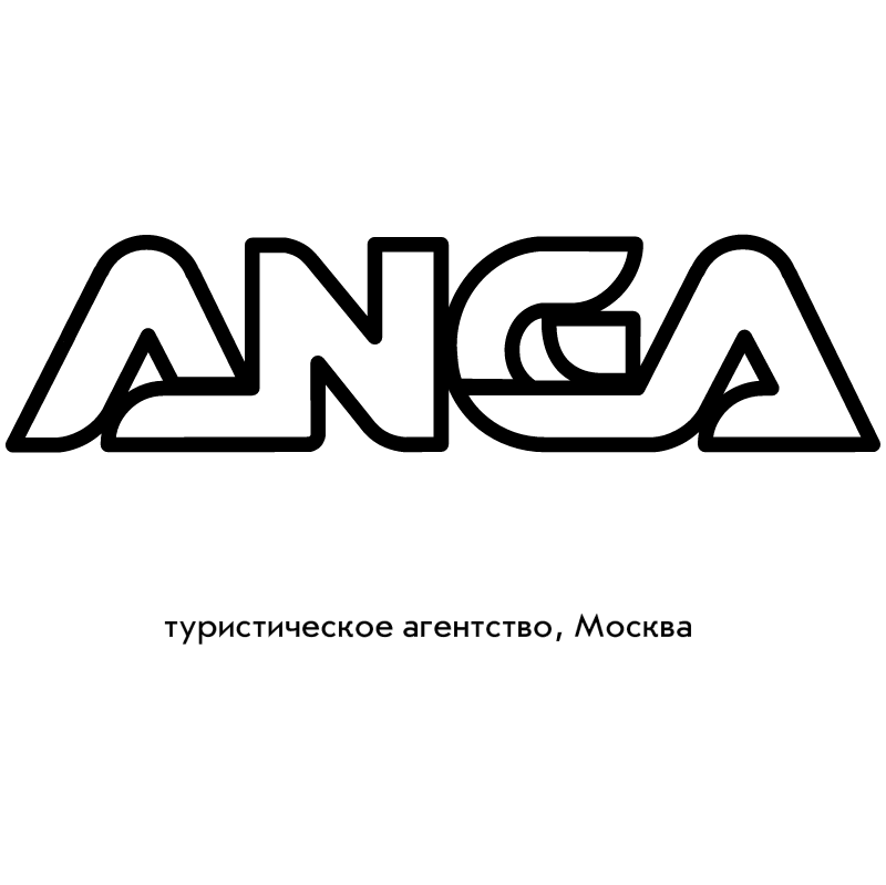 Anga Travel Agency vector logo