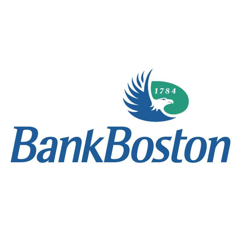 Bank Boston 60347 vector