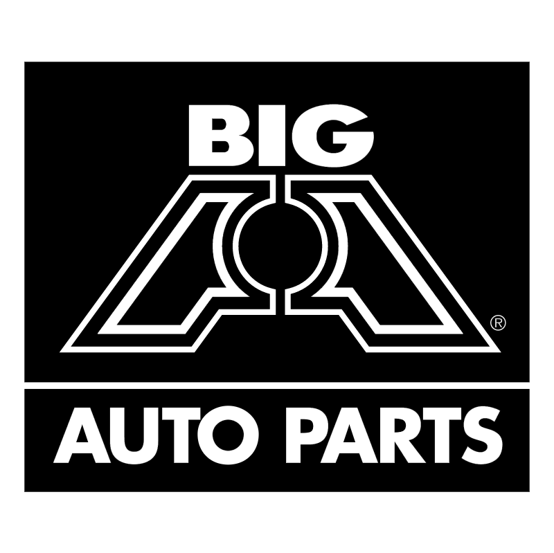 Big Auto Parts vector logo