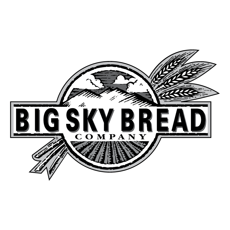 Big Sky Bread vector