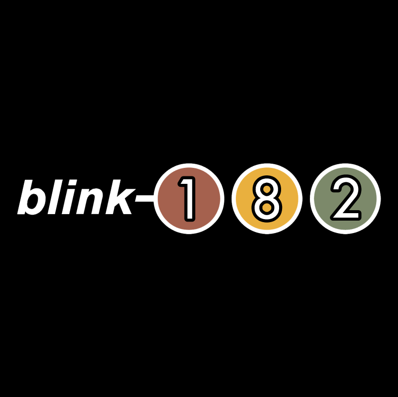 Blink 182 vector logo
