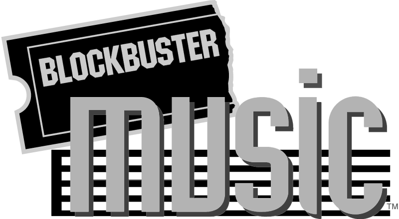 Blockbuster Music vector logo