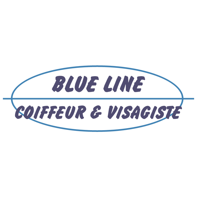 Blue Line vector
