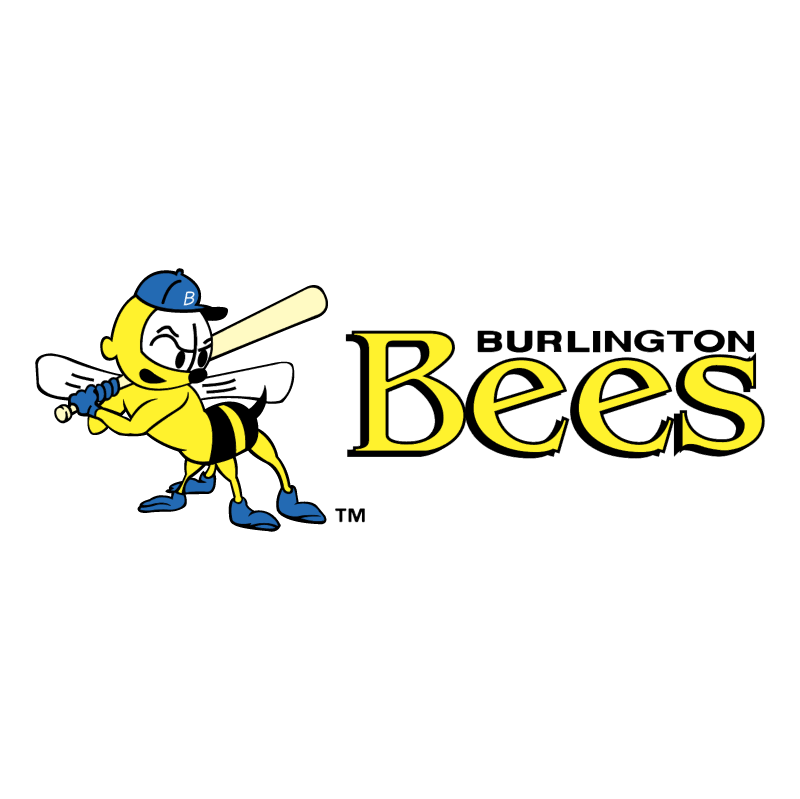Burlington Bees 58435 logo