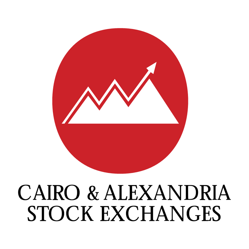 Cairo & Alexandria Stock Exchanges vector