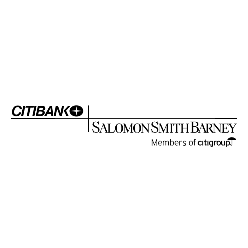 Citibank Salomon Smith Barney vector