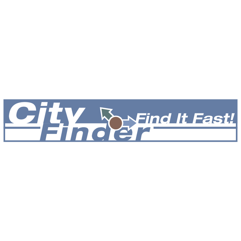City Finder vector logo