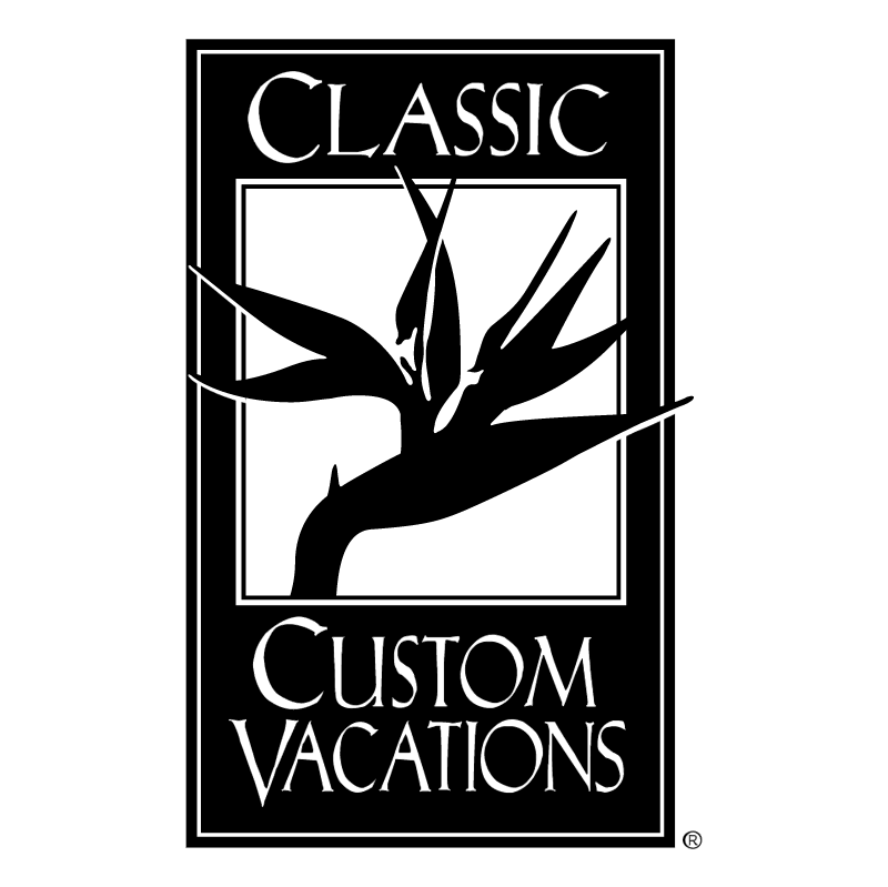 Classic Custom Vacations vector