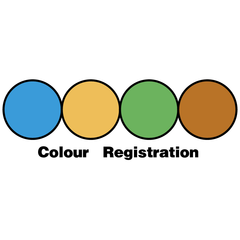 Colour Registration 6164 vector