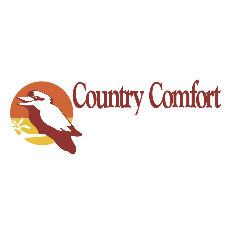 Country Comfort vector logo