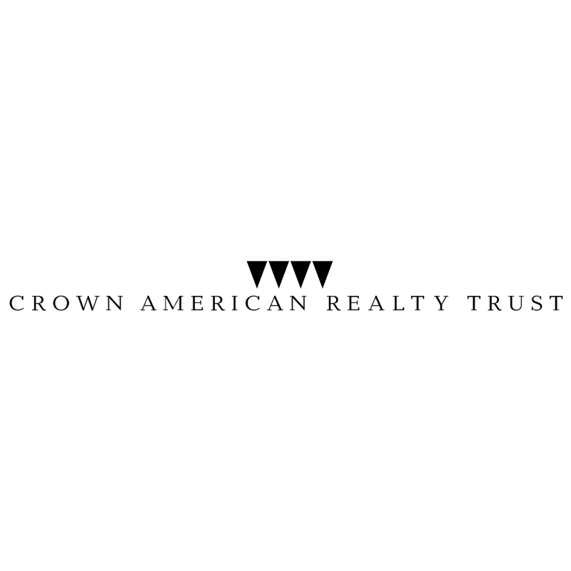 Crown American Realty Trust 8965 vector
