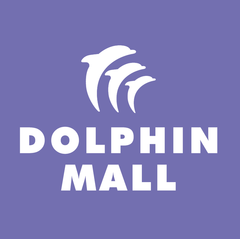 Dolphin Mall vector