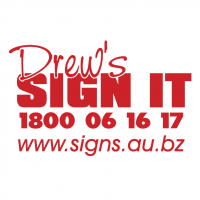 Drew's Sign It vector