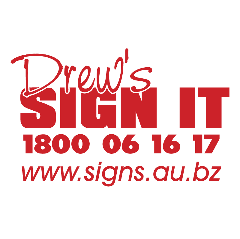 Drew's Sign It logo