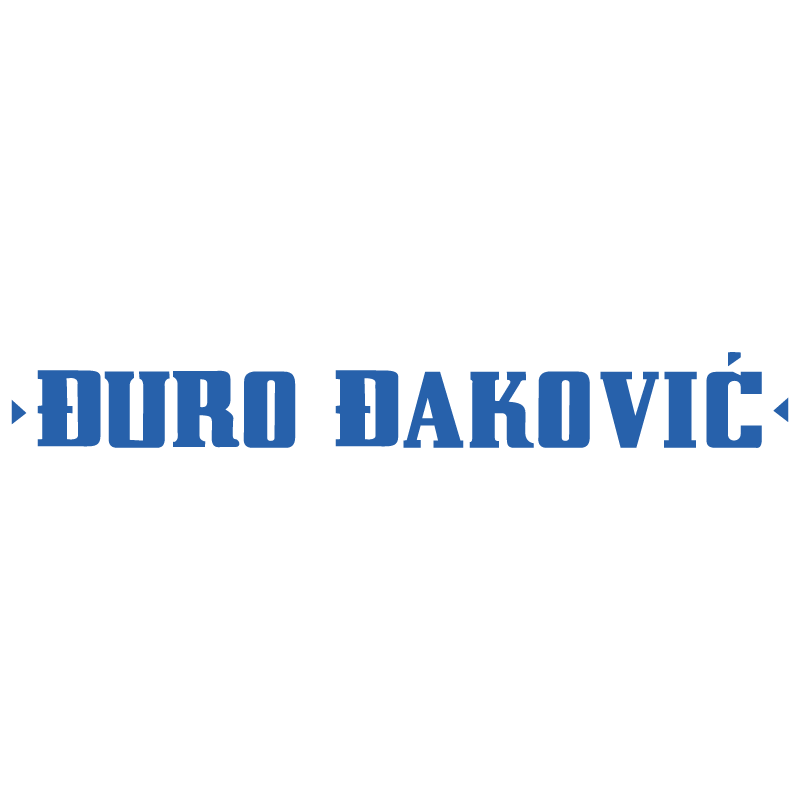 Duro Dakovic vector logo