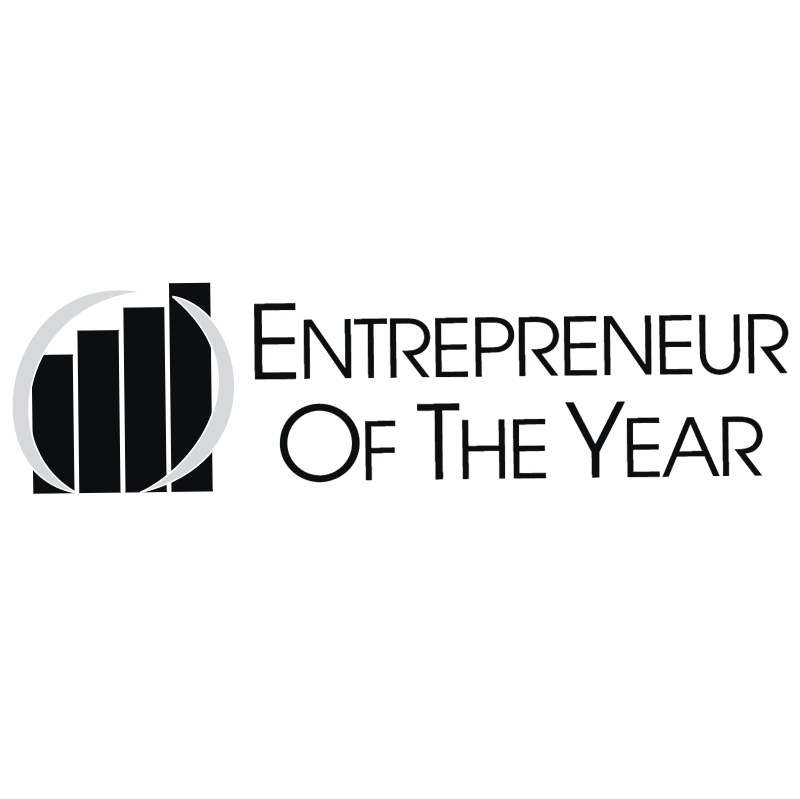 Entrepreneur Of The Year vector