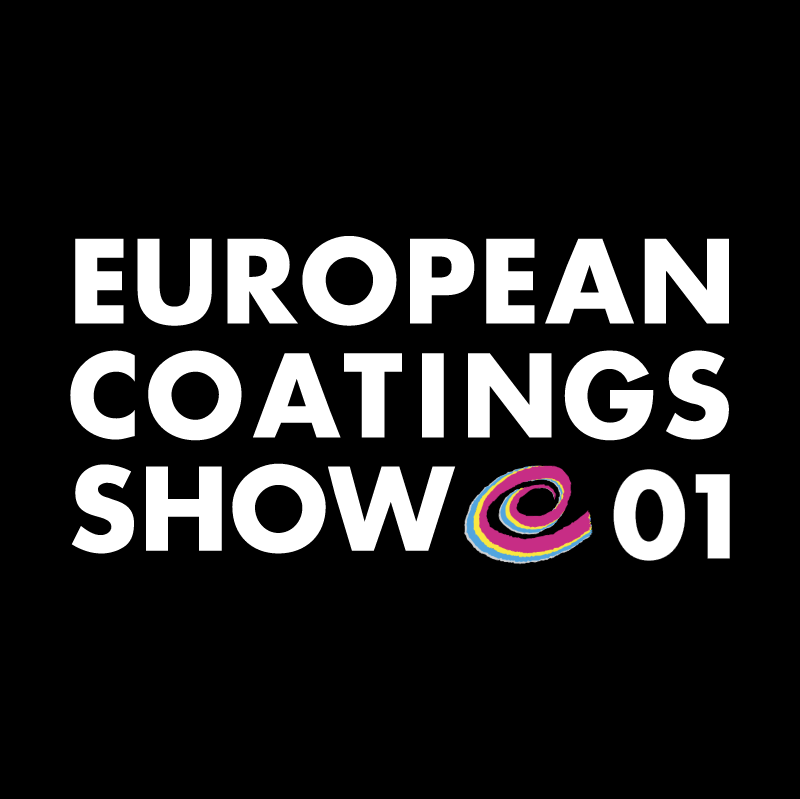 European Coatings Show 01 vector logo