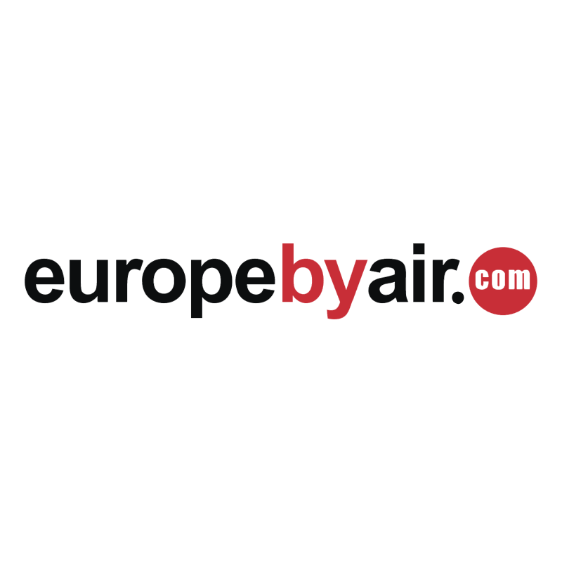 EuropeByAir com vector logo