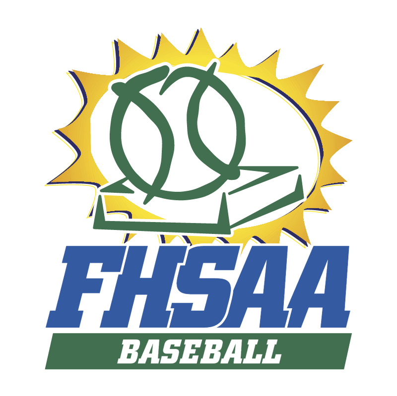 FHSAA Baseball vector