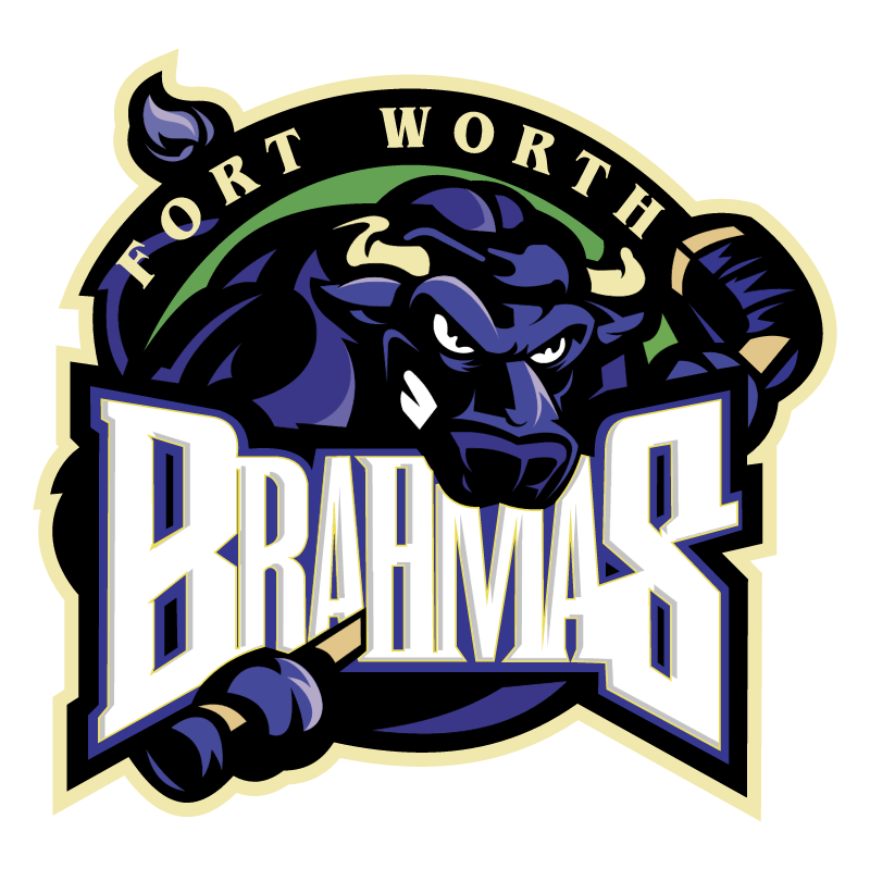 Fort Worth Brahmas vector