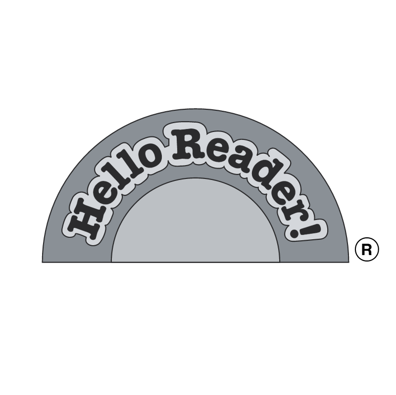 Hello Reader! vector logo