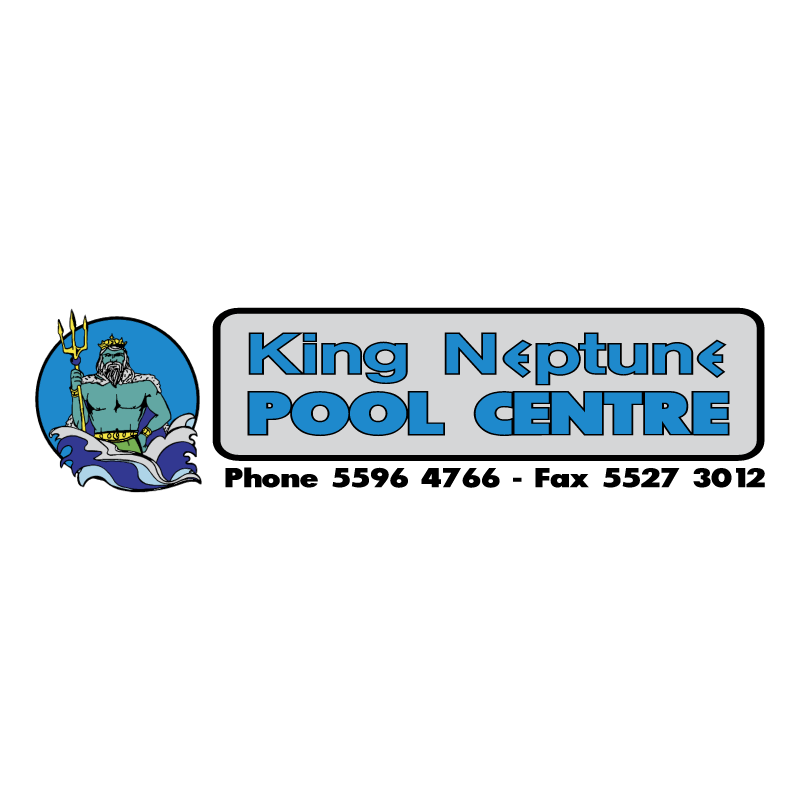 King Neptune Pool Centres vector