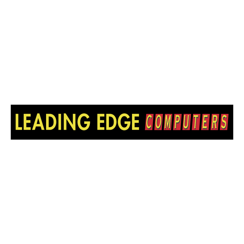 Leading Edge Computers vector