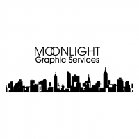 Moonlight Graphic Services vector