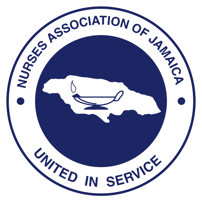 Nurses Association of Jamaica vector