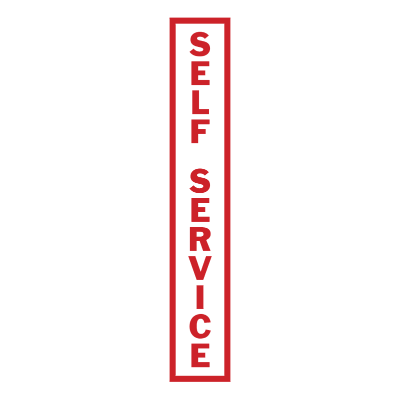 Self Service vector logo
