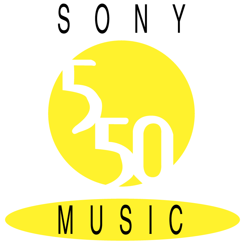 Sony Music 550 vector