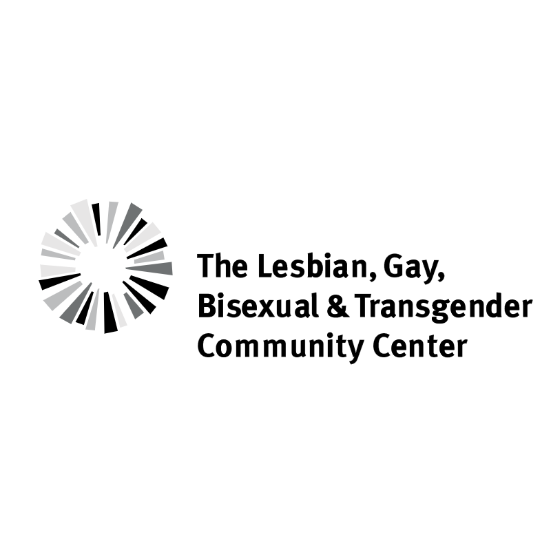 The Lesbian, Gay, Bisexual & Transgender Community Center vector
