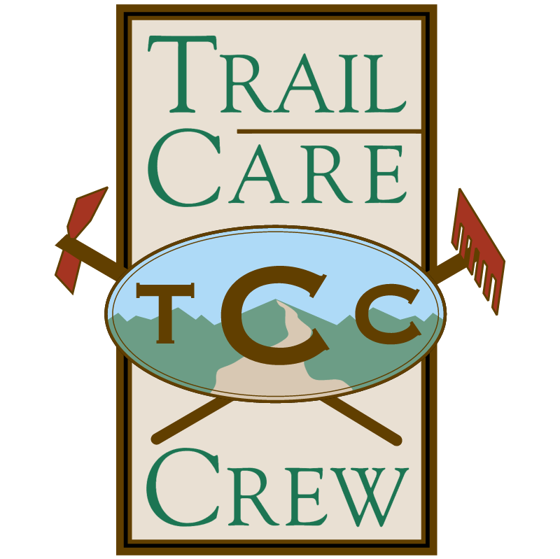 Trail Care Crew vector logo