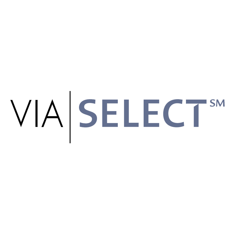 VIA Select vector logo