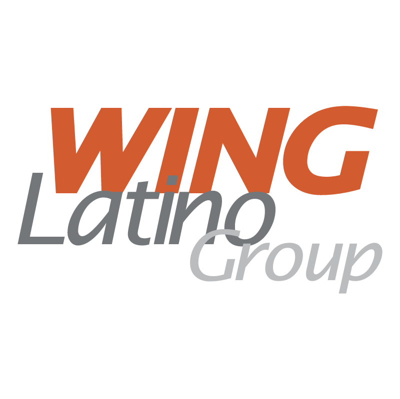 Wing Latino Group vector logo