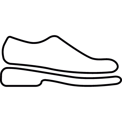 Shoe vector logo