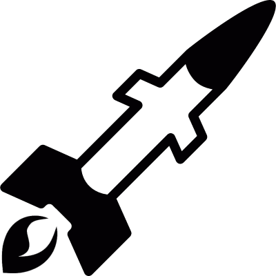 Rocket vector logo