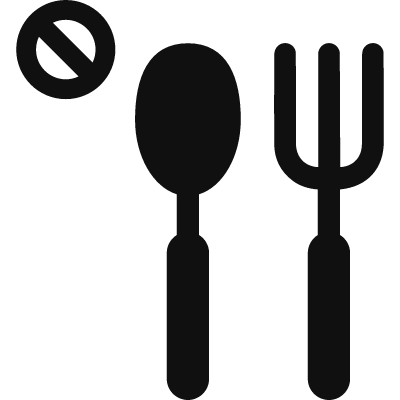 Food not allowed logo