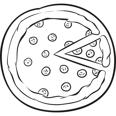 Pepperoni Pizza logo