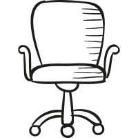 Desk Chair vector
