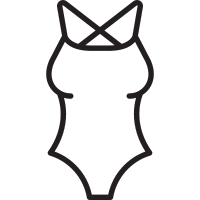 Women Swimsuit vector