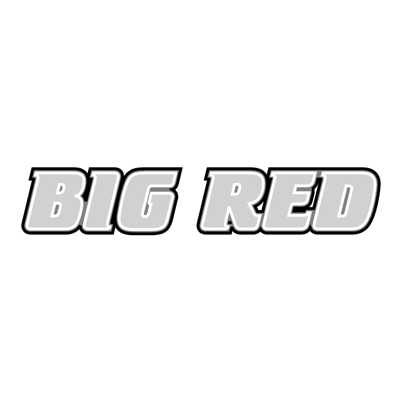 Big Red vector