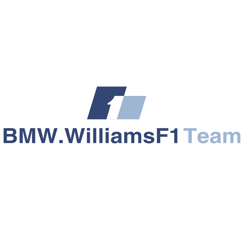 BMW Williams F1 Team 31064 vector