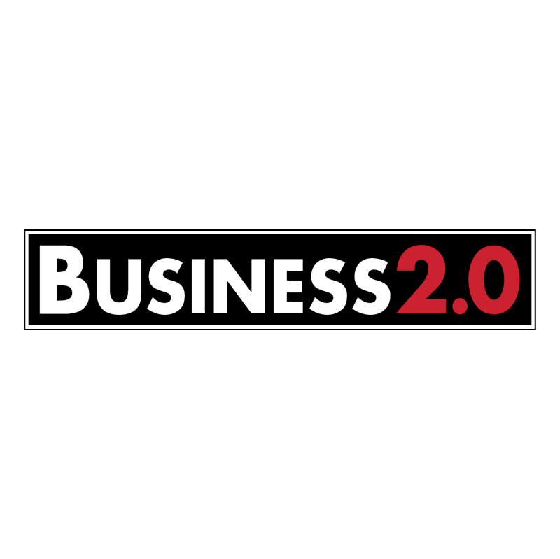 Business 2 0 vector logo