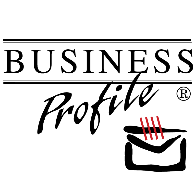 Business Profile vector logo