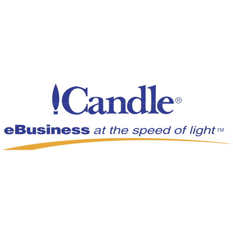 Candle vector logo