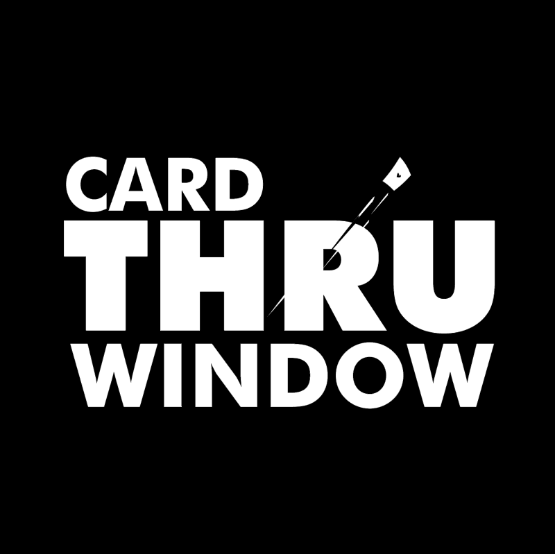 Card Thru Window logo