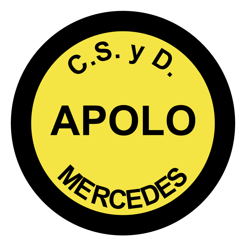 Club Social y Deportivo Apolo de Mercedes vector